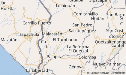 San Pedro Sacatepéquez Map