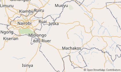 Machakos Map