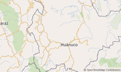 Huánuco Map