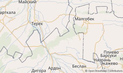 Vladikavkaz Map