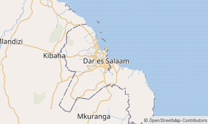 Daressalam Map